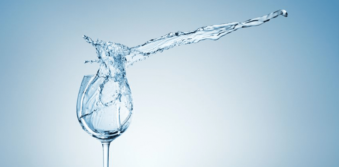 Abbinare l'acqua, un'arte affascinante