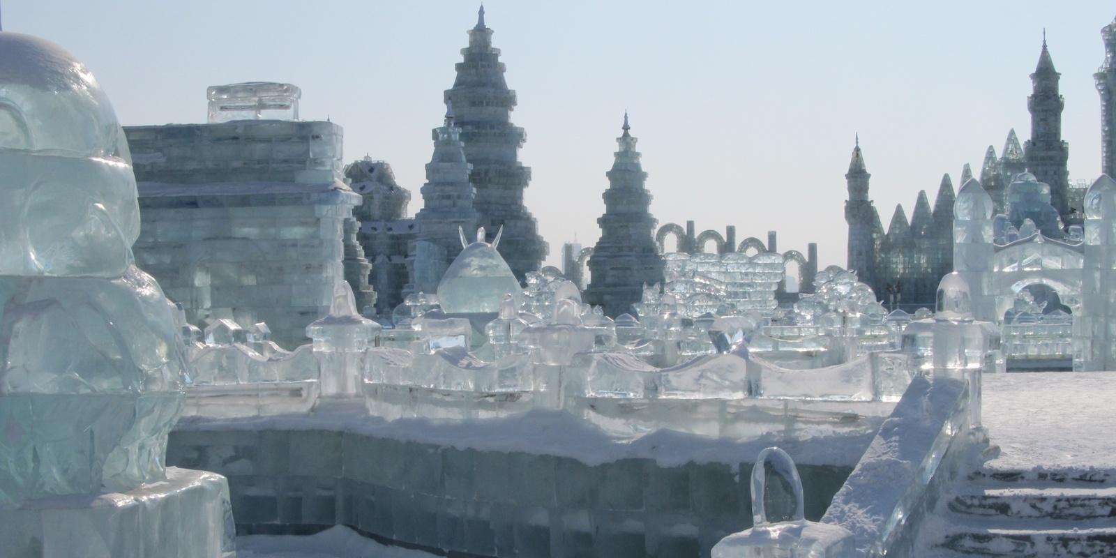 I più bei festival di ice art nel mondo