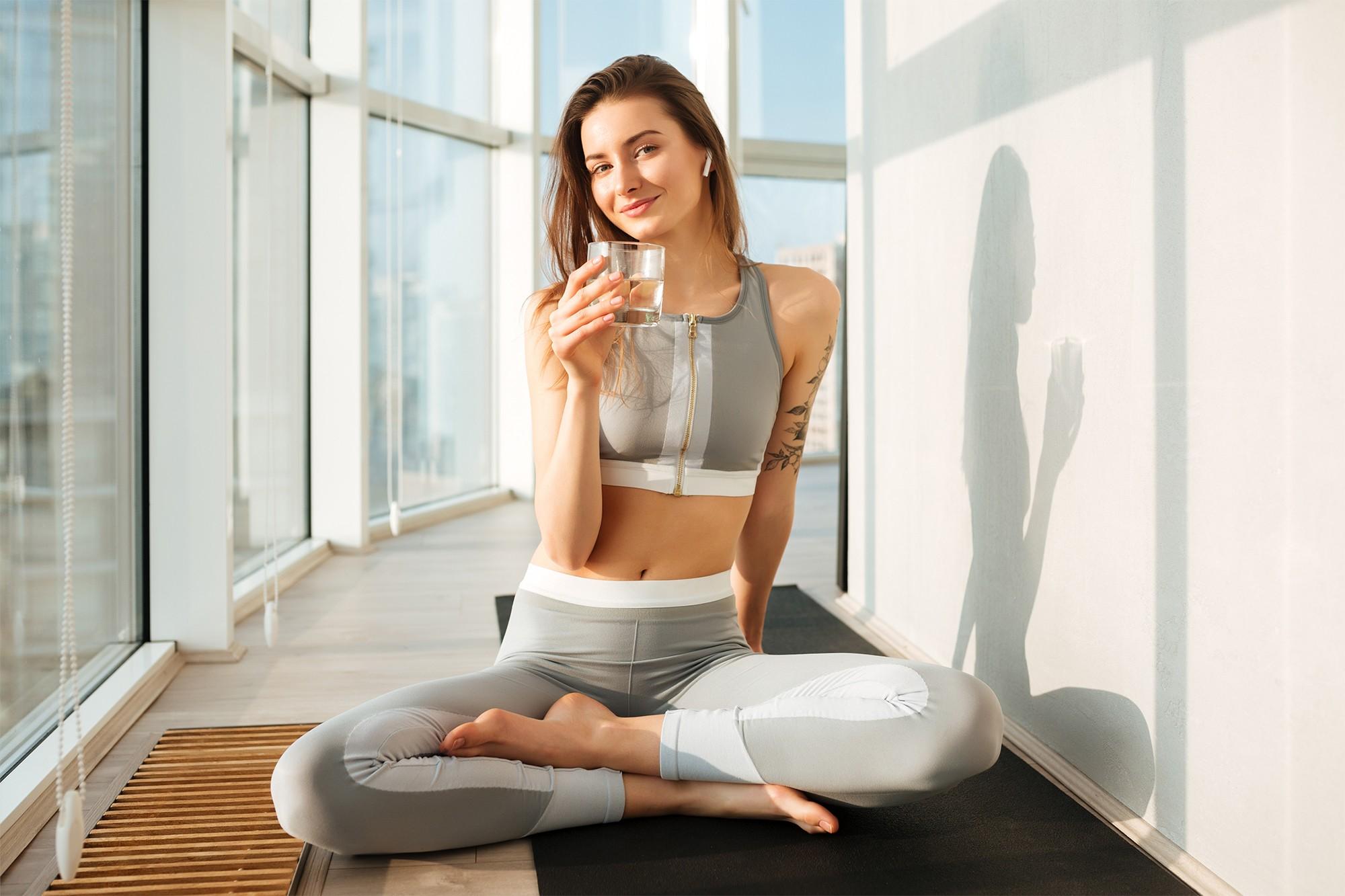 L'acqua e lo sport: bere bene per allenarsi meglio